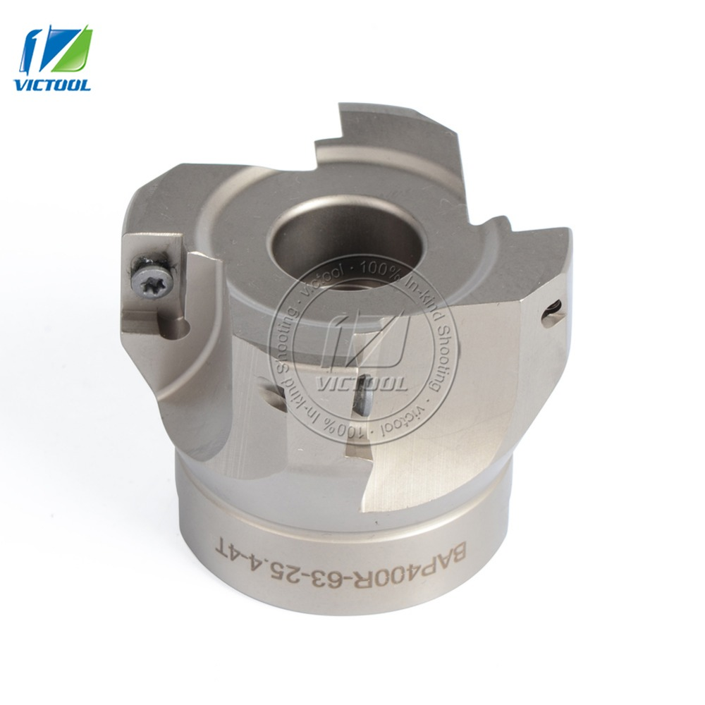 Free Shiping BAP400R*63*25.4*4T Milling tool For milling insert APMT1604 Face Mill Shoulder Cutter