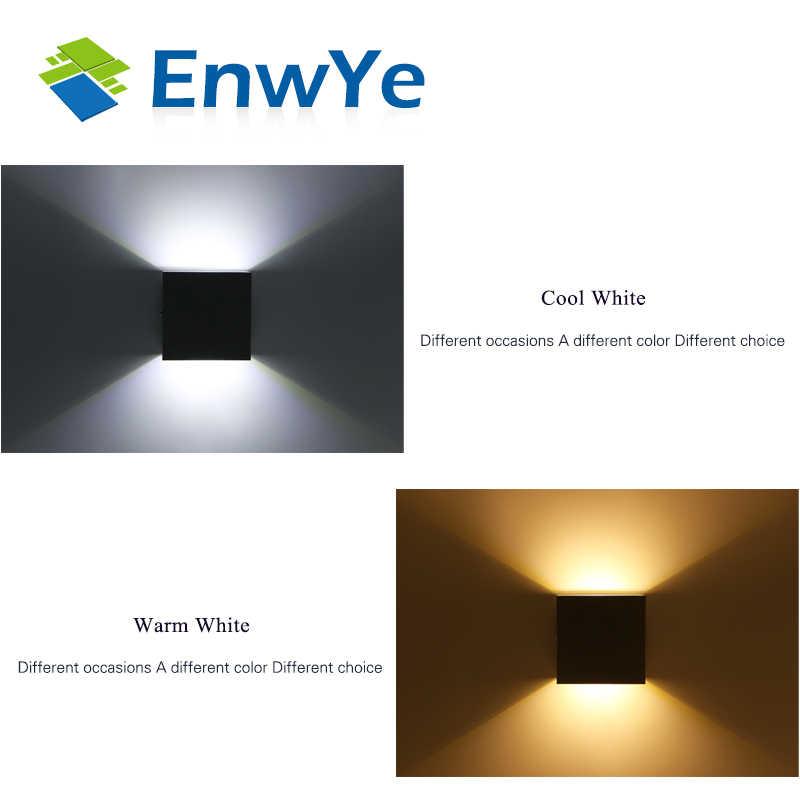 EnwYe светодиодный настенный светильник для помещений 6 Вт, современное домашнее освещение, алюминиевый настенный светильник AC 220 В, прикроватный шкаф, спальня, настенный светильник, искусство BD74