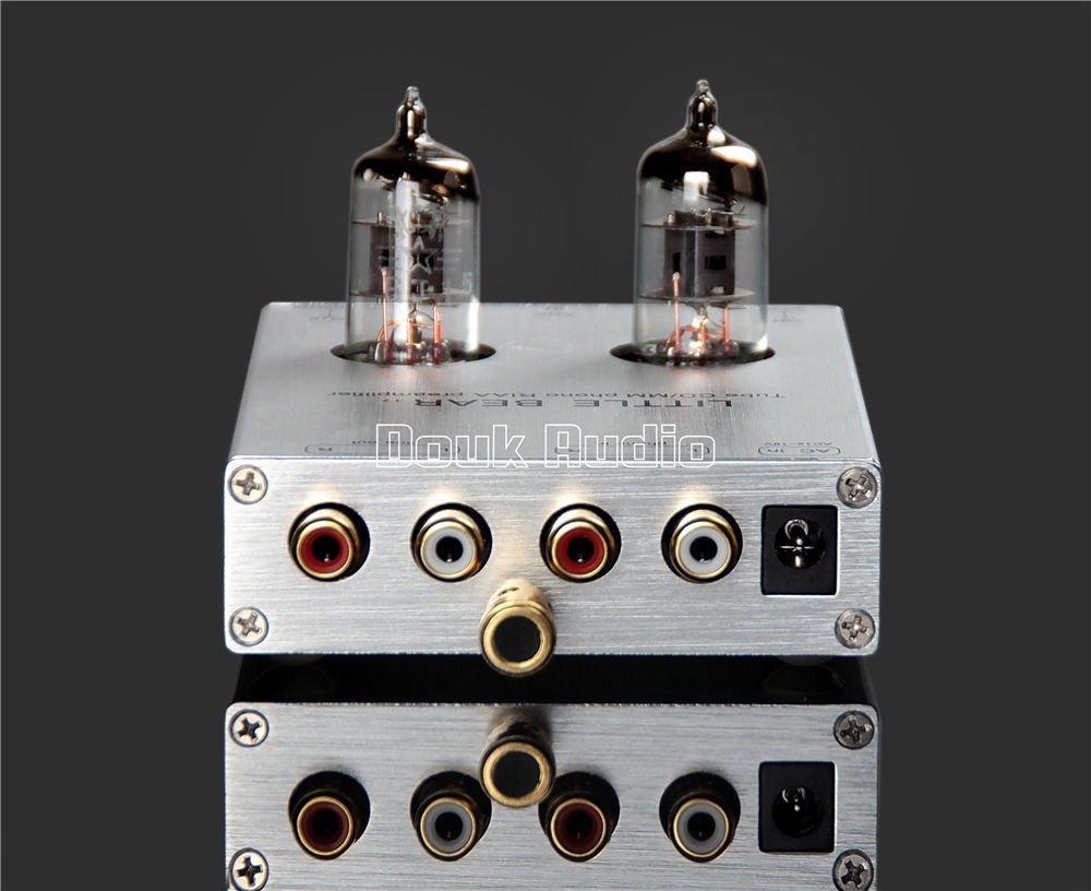 Little bear T7 Silver tube valve Phono MM Turntable RIAA CD Preamp preamplifier amplifier
