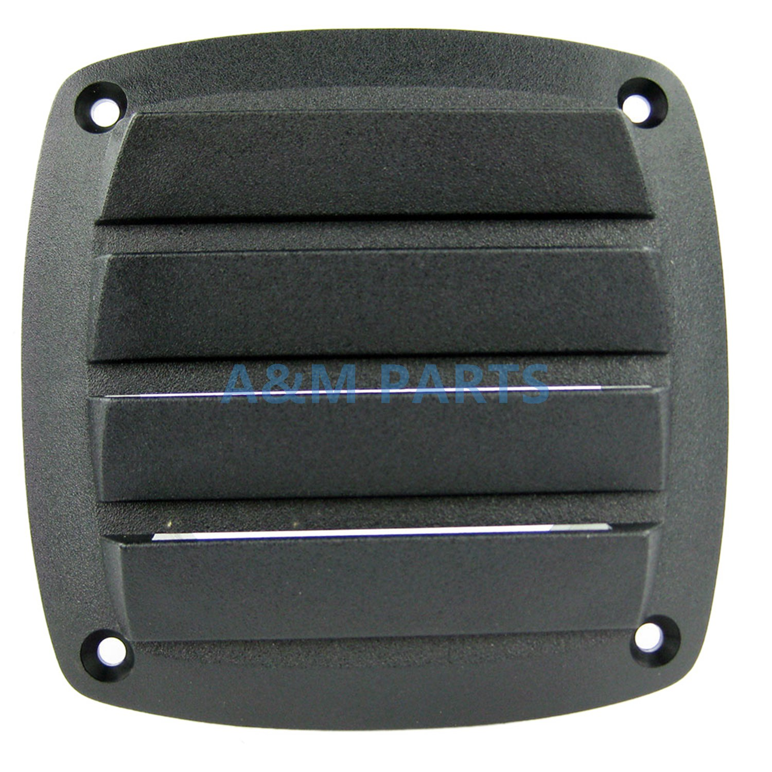 Boat Louvered Vents Round 4 Inch Hose Hull Air Vent Marine Plastic Surface Mount