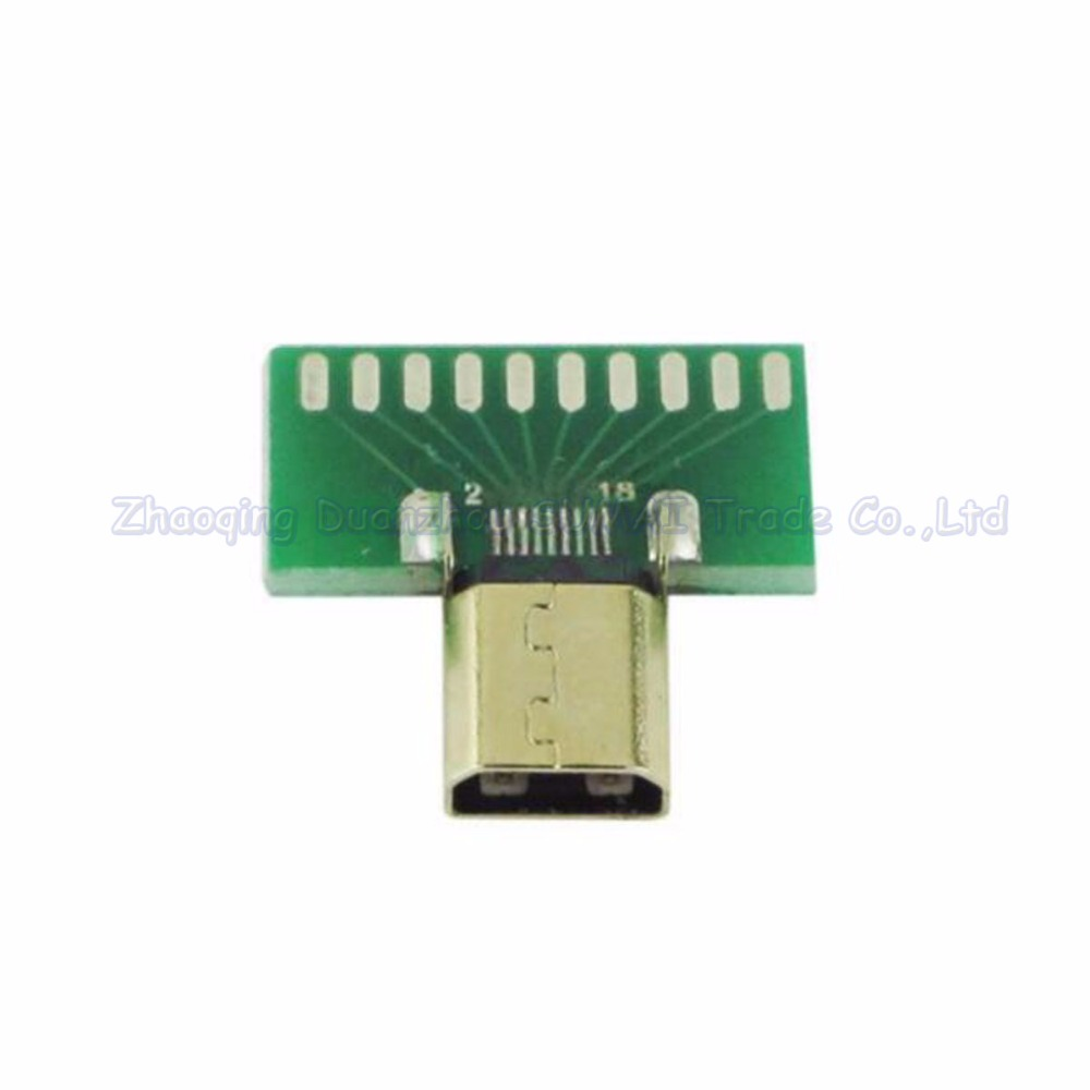 25pcs/lot Micro HDMI connector Female socket D type Tester with PCB board