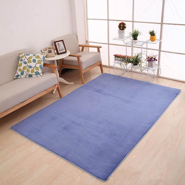 Thicker Carpet Soft Living Room Mats Yoga Mat Carpets Rectangle Bedroom  Anti Slip Mats Water