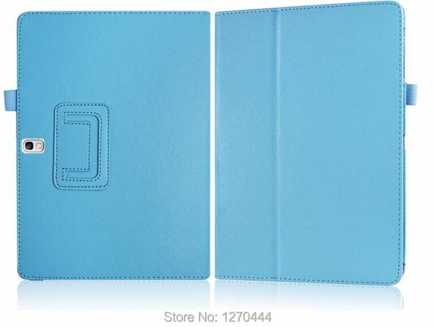 Samsung Tab S 10.5 Litchi cilt için Deri koruyucu kılıflar standı - Tablet Aksesuarları - Fotoğraf 3