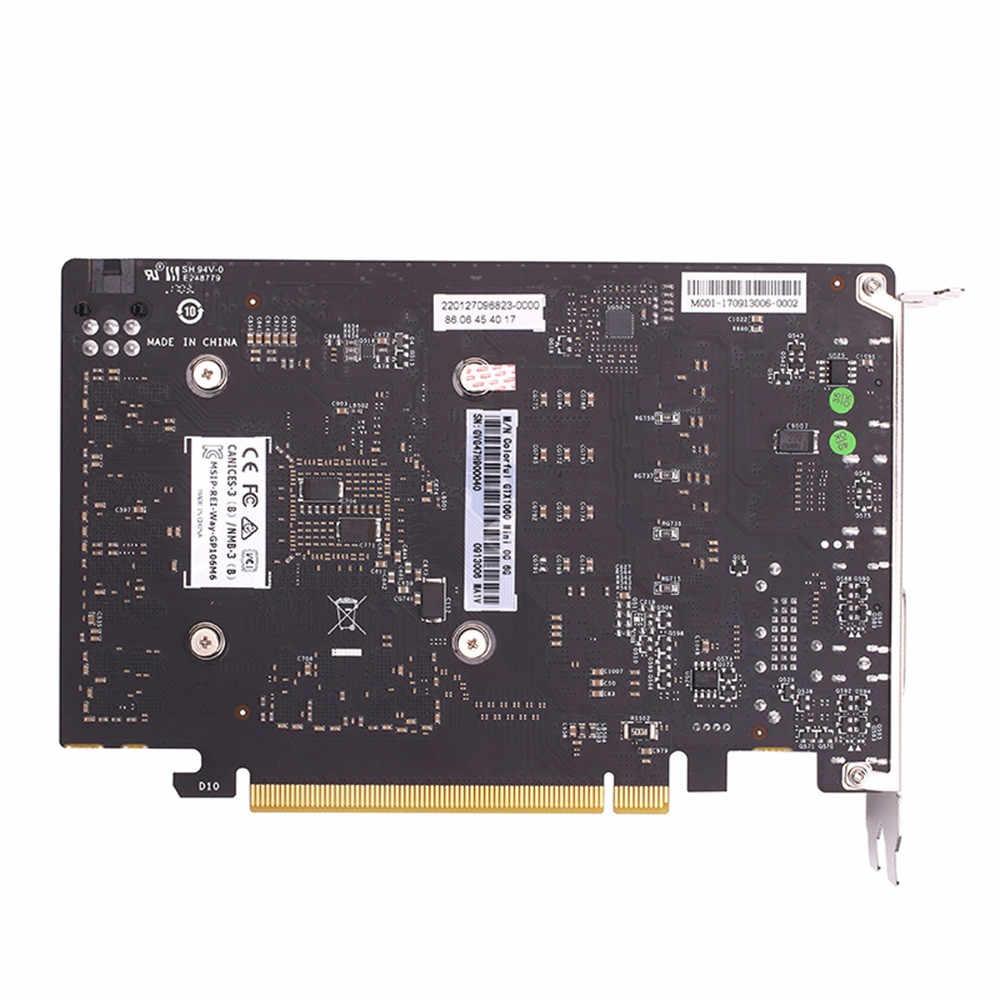 GTX1060 Mini OC 6G GDDR5 192Bit PCI Express Game Card Đồ Họa Graphocs Thẻ Công Suất 120W OpenGL 4.5