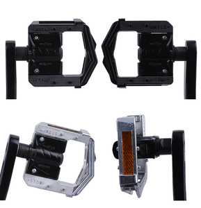 Image 4 - Wellgo F265 Folding Bicycle Pedals MTB Mountain Bike Padel Aluminum Folded Pedal Bicycle Parts