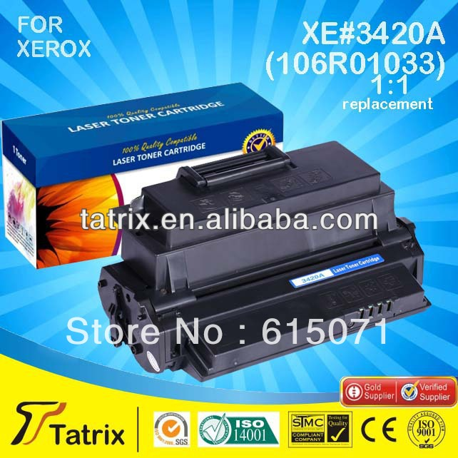 ФОТО FREE DHL MAIL SHIPPING. For Xerox 106R01033 Toner Cartridge ,Compatible 106R01033 Toner