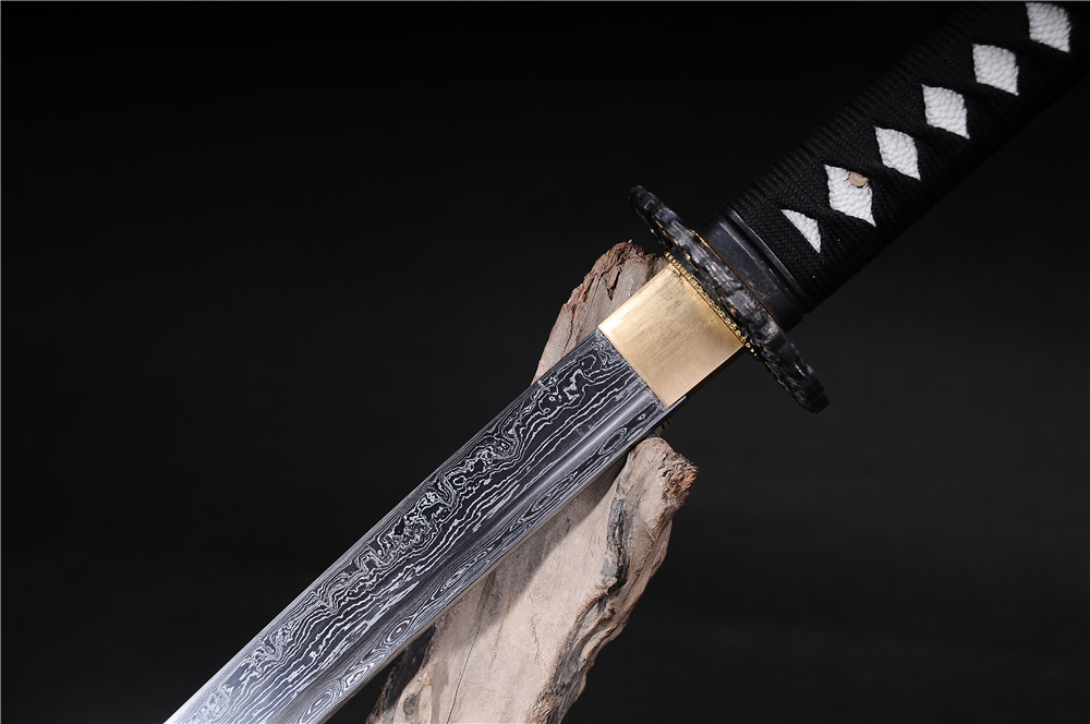 əl istehsalı samuray yapon qılıncları katana funksional zombi - Ev dekoru - Fotoqrafiya 5