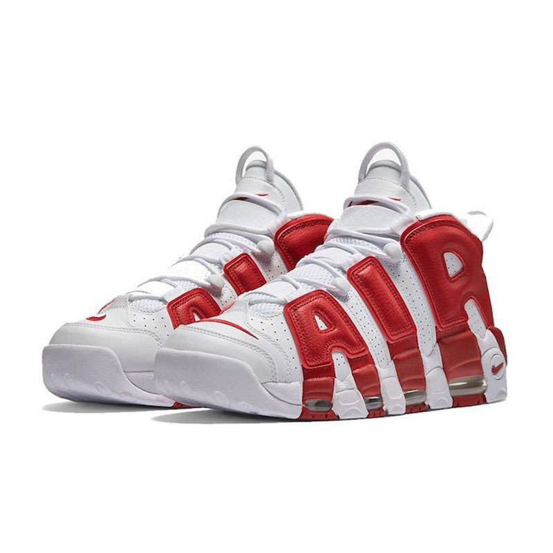 Original Authentic White Gold Nike Air Max More Uptempo Mens Basketball  Shoes Medium Cut Nike Culture Sports Sneakers for Men-in Basketball Shoes  from ...