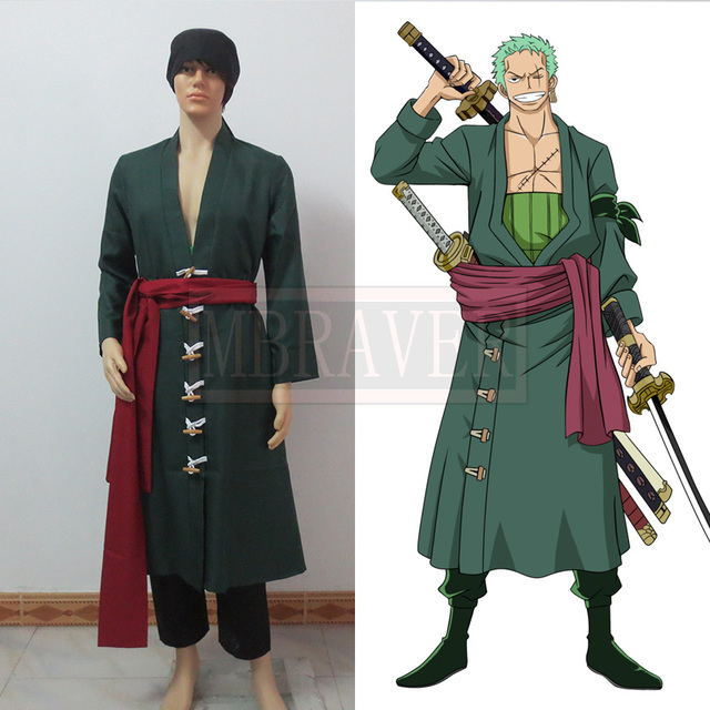 One Piece Roronoa Zoro Cosplay Costumes In Anime Costumes From