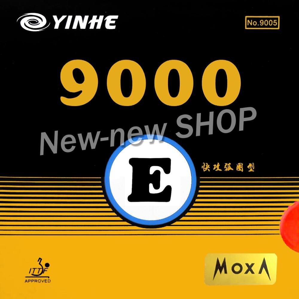 Yinhe 9000E (9000 E, 9000-E) Pips-In Table Tennis (PingPong) Rubber With Sponge