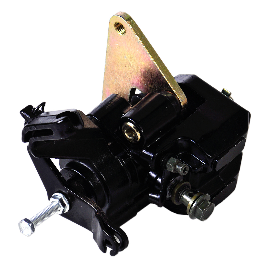 beler Motorcycle Metal Rear Back Brake Caliper Fit for Suzuki Quad Sport Z400 2003 2004 2005 2006 2007 2008 2009 2012 2013 2014 aftermarket free shipping motorcycle parts eliminator tidy tail for 2006 2007 2008 fz6 fazer 2007 2008b lack