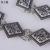 Metal plateado cadena de la cintura de la muchacha bromista de la manera tallada decoración falda de hierba de cuero cintura cinturón con accesorios de cadena suéter V218