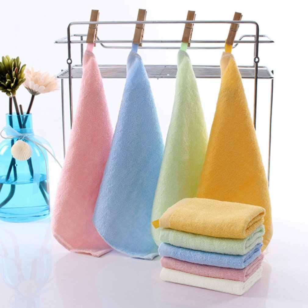 Kindergarten Haken Bambus Faser Kleine Platz 25*25 Mütterlichen Und Kind Geschenke Speichel Handtuch kinder Kleine Handtuch