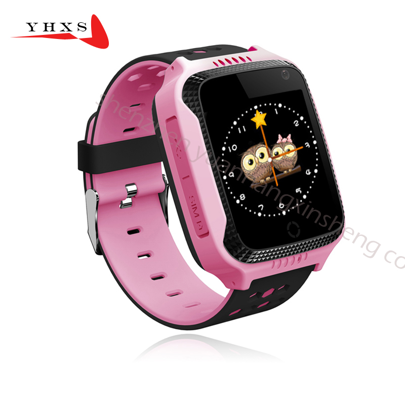 Touch Screen Smart GPS LBS Tracker Location SOS Call Remote Monitor Camera Flashlight Watch Wristwatch for Kids Student Pk Q90