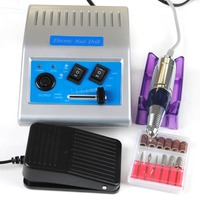 30000RPM Nail Art Drill Nail Equipment Manicure Machine Pedicure Electric Nail Art Drill Pen Apparatus for Manicure Tool 2 color