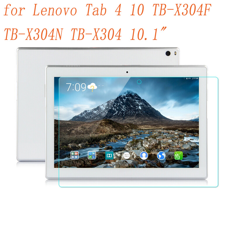 Tempered Glass for Lenovo Tab4 Tab 4 10 X304 TB-X304F TB-X304N TB-X304 10.1 inch Tablet Screen Protector Film Guard Cover 9H aiyoo 9h tempered glass for lenovo tab 4 10 screen protector film for lenovo tab4 10 tb x304f tb x304n 10 1 tempered glass film