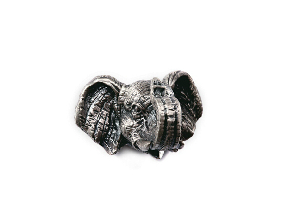 classical European contracted style simple cupboard door drawer knobs ancient silver furniture handle/elephant pulls