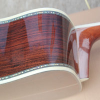 2017 NEW 41 All Real Abalone Binding Ebony Fingerboard Solid Spruce Top AAA Quality Classical Acoustic