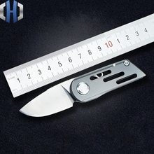 Mini M390 Powder Steel Folding Knife High Hardness With Self-defense Small EDC Tool Without Locking
