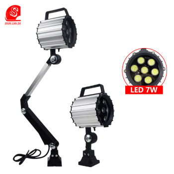220v led garage light machine tool working lamps Swing long arm workshop lathe waterproof ligths industrial led machine lighting led machine light small machine working lamps metal hose freely bend lamps 12v 24v 220v high brightness for machining center