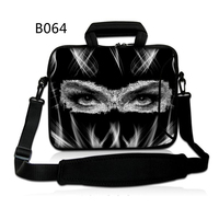 Black Lady Custom Personality Laptop Shoulder Bag Case 7/9/10/11/12/13/14/15/17.3 inch for MacBook Lenovo Dell hp acer VAIO
