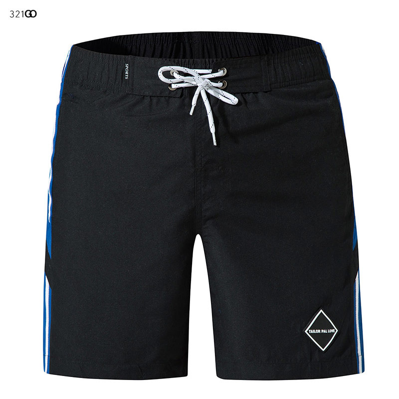 Summer Hot Men Beach Shorts Quick Dry Black Solid Board Shorts Swimming Trunks Swimsuit For Male Running Pants ropa de hombre
