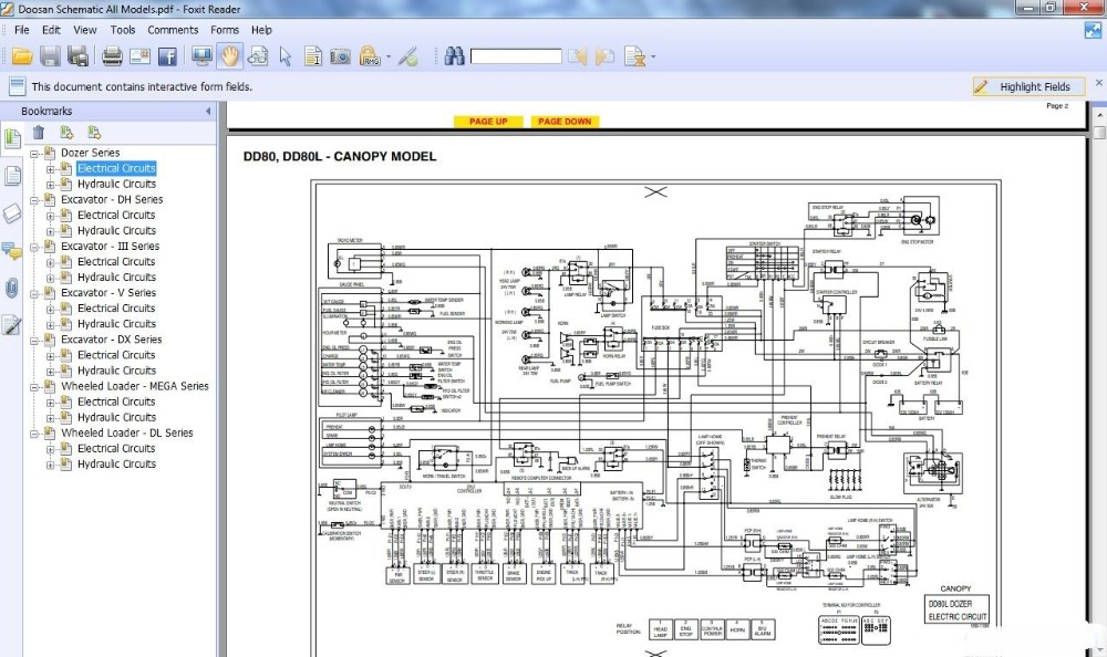 Daewoo Forklift Wiring Schematic. . Wiring Diagram on