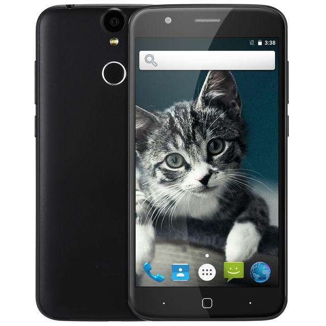 "Original Vernee Thor 4G LTE Android 6.0 MTK6753 Octa Core 5.0"" Smartphone 3GB 16GB 13.0MP Cam Fingerprint ID Dual SIM Cell Phone"