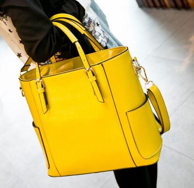 ФОТО Chic Women's Handbag Shoulder Bag Messenger Casual Tote Clutch PU Leather Bags