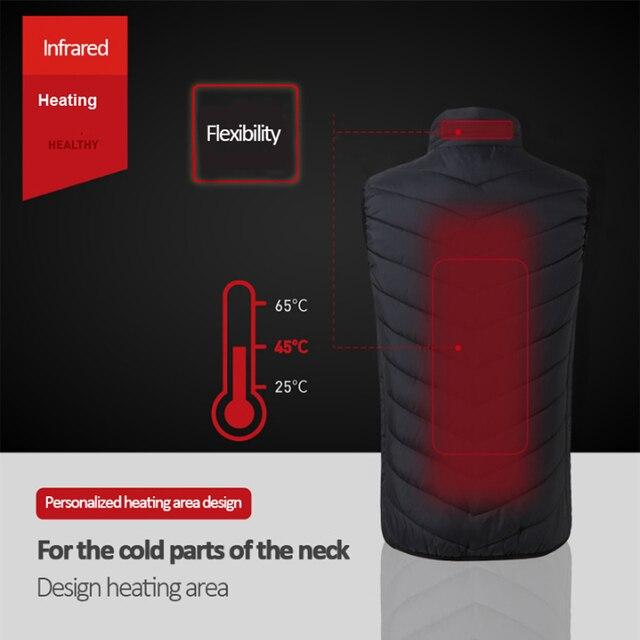 USB Infrared Heating Vest 3
