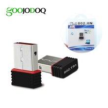 USB WiFi адаптер 150 Мбит/с USB 2.0 Wi-Fi Беспроводной сети LAN Card 802.11AC антенна для портативных ПК Windows, Mac OS linux