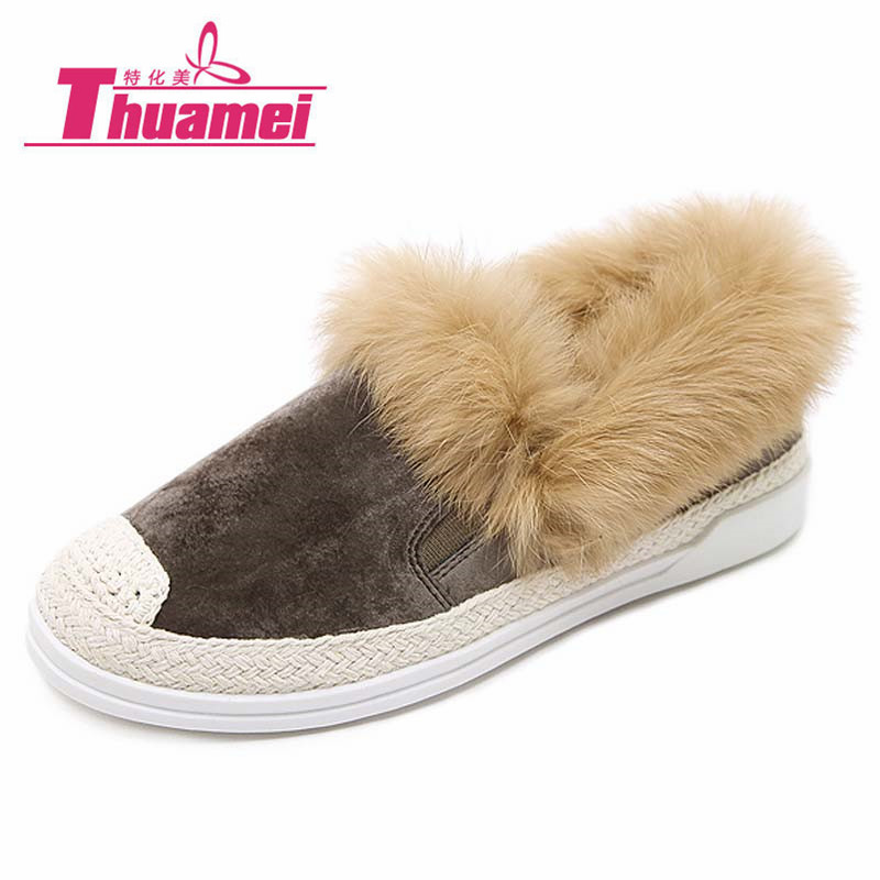 acf791620c93 Faux-Fur-Warm-Women-Sneakers-Women-Flats-Comfortable-Flat-Shoes -Slip-On-Casual-Autumn-Winter-Black.jpg