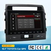 Quad Cord Android 7 1 Car DVD GPS Radio For Toyota Land Cruiser 2007 2015 Multimedia