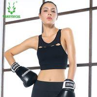 Women Sexy Sport Bra Top Shakproof Padded Sports Bra Women Push Up Running Gym Fitness Yoga Bra Athletic Workout Bras