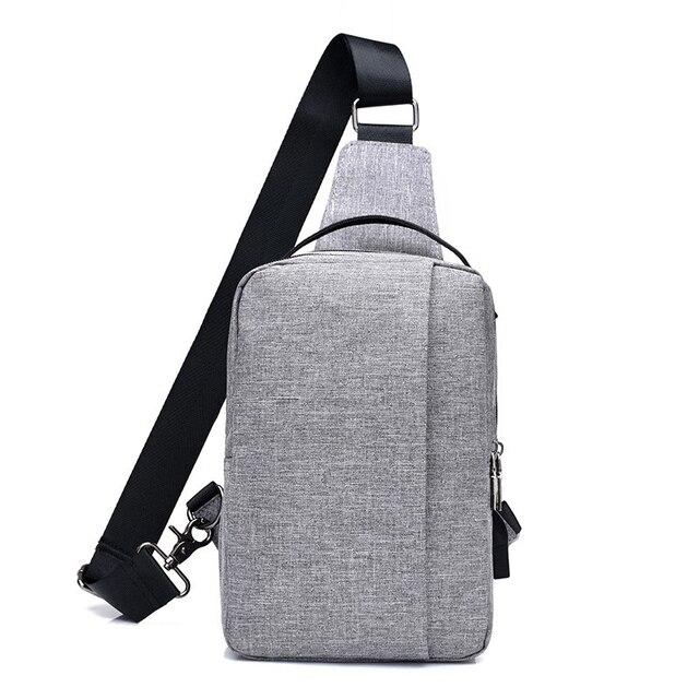 6d0366a2bc New Arrival Oxford Men Chest Pack Single Shoulder Strap Back Bag Crossbody  Bags for Women Sling Shoulder Bag Back Pack Travel