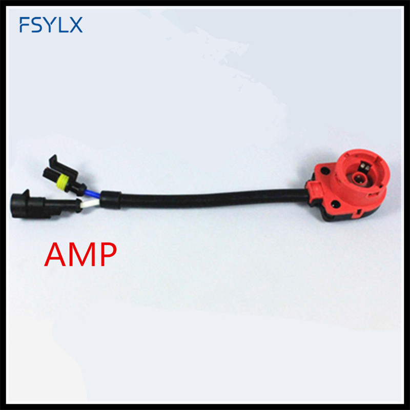 �_�fsylx d2 amp d2s d2r d2c d4s hid wiring harness car accessories Stereo Wiring Harness Adapters fsylx d2 amp d2s d2r d2c d4s hid wiring harness car accessories d2s d4s hid relay harness cable base adaptors connector socket