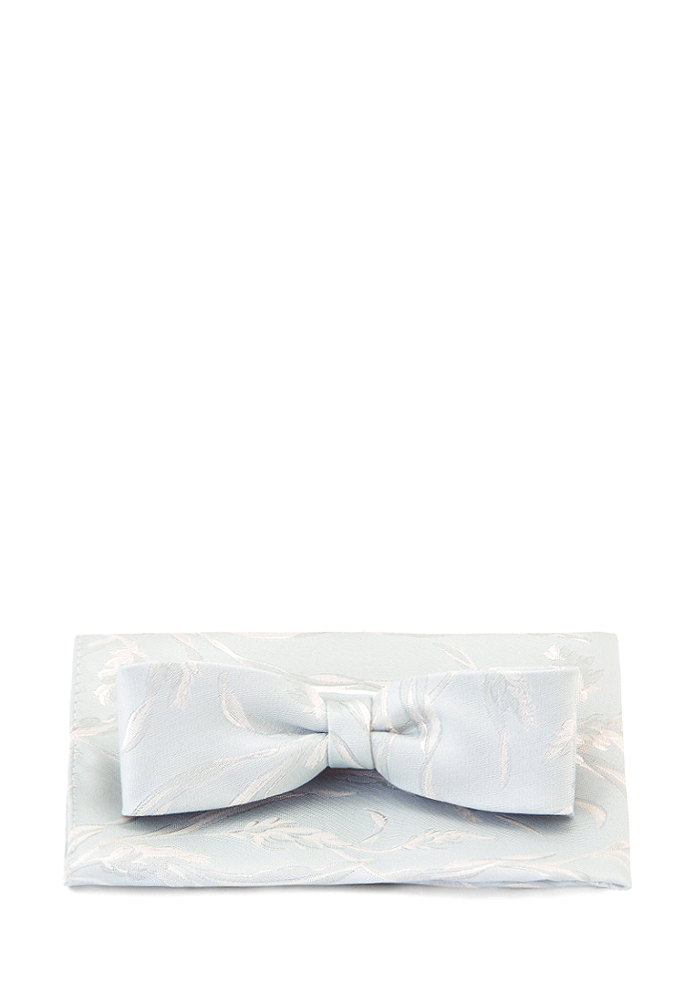 [Available from 10.11] Bow tie men's handkerchief CARPENTER Carpenter-poly 1-St. Gray 204.1.11 Gray