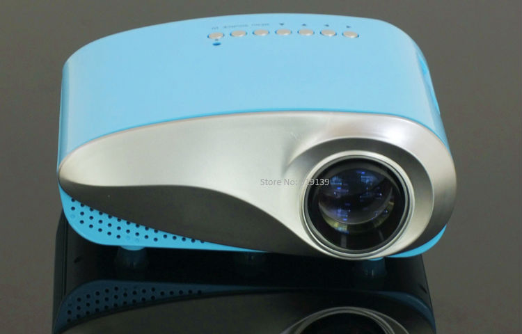 mini projector blue pic 1