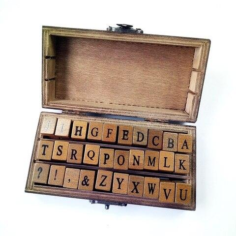 vintage diy multiusos maiusculas do alfabeto carta