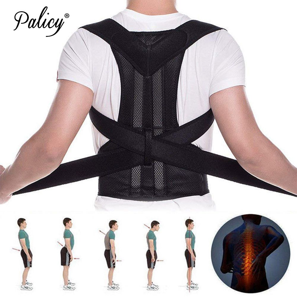 Men's Corset Posture Corrector Shoulder Support Belt Adult Teenager Fracture Back Brace Body Shaper Vest Correct Posture Girdles