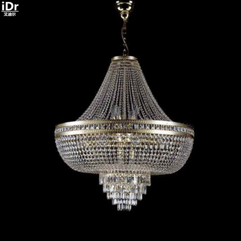 Chandeliers Modern Dining Room Chandelier Hanging Gold Metallic Lamp D80cm X H90cmChina