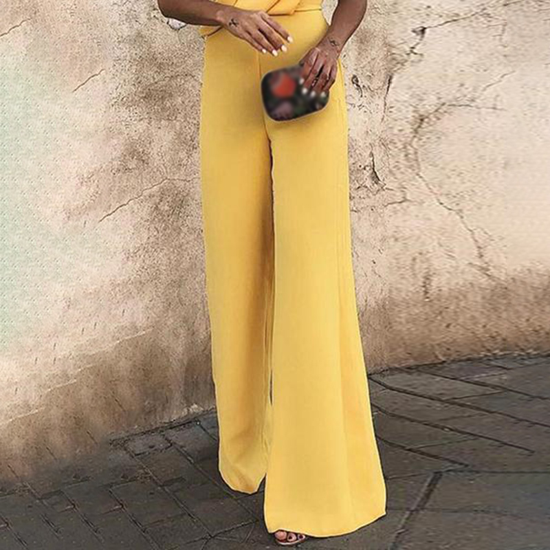 Women's   Jumpsuit   Solid Slim Fit Sleeveless Deep V Neck Romper Playsuit Summer