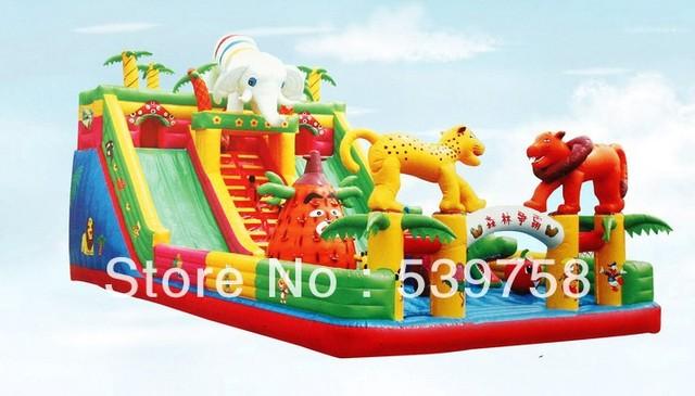 Fábrica de brinquedos infláveis diretos, trampolim inflável, castelo inflável,