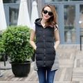 TX1475 Barato al por mayor 2017 nueva Otoño Invierno Caliente venta de moda casual bolso agradable femenina cálido Chaleco de Vestir Exteriores