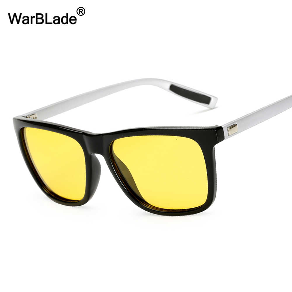 6ace494322 WarBLade Day Night Vision Goggles Driver Polarized Sunglasses For Men s Car Driving  Glasses Vintage Outdoors Male