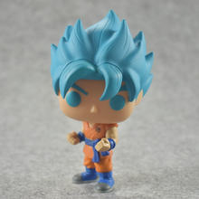 FUNKO POP Dragon Ball Super Toy Blue Monkey Action Animation Super Pop Doll PVC Toy Children's Birthday Gift(China)