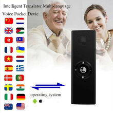 Portable Smart Voice Translator for Learning Travel Business Meeting 3 in 1  voice Text Photo 38 Languages Voice Translator