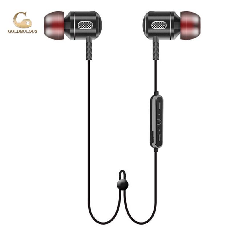 GBS8 bluetooth earphone waterproof IPX6 sport bass stereo audio in-ear headset wireless bluetooth earbuds with Ear Hook Mic