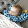 Baby pillow newborn high-end children stereotypes pillow cotton magnetic buckle 0-3 years baby shaping pillow butterfly Shape