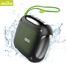 MIFO H3 Waterproof IPX6 Mini Bluetooth four.1 Wi-fi Outside Speaker & TF/Micro SD Card Audio system with FM Radio APP cell phone